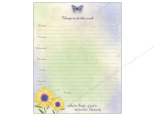 Lang Weekly Planner Jumbo Daisy