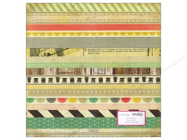 Crate Paper 12 x 12 in. Paper DIY Shop Washi Paper (15 pieces)
