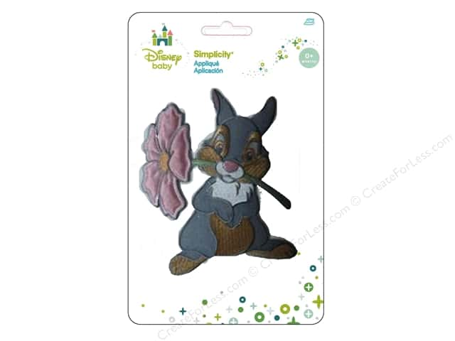 Simplicity Appliques Disney Baby Iron On Thumper