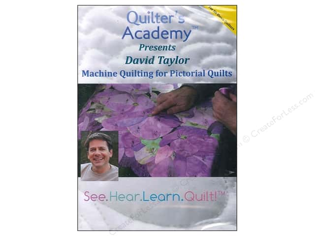 Handi Quilter Machine Quilting Pictorial Quilt DVD