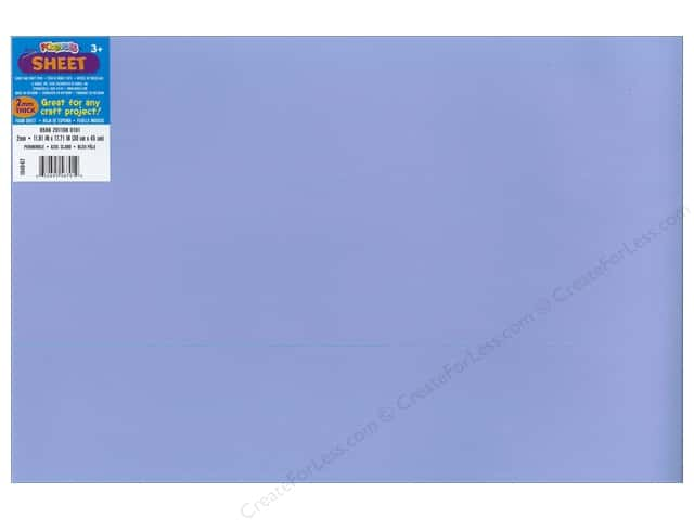 Foamies Foam Sheet 2mm 12 x 18 in. Periwinkle (10 sheets)