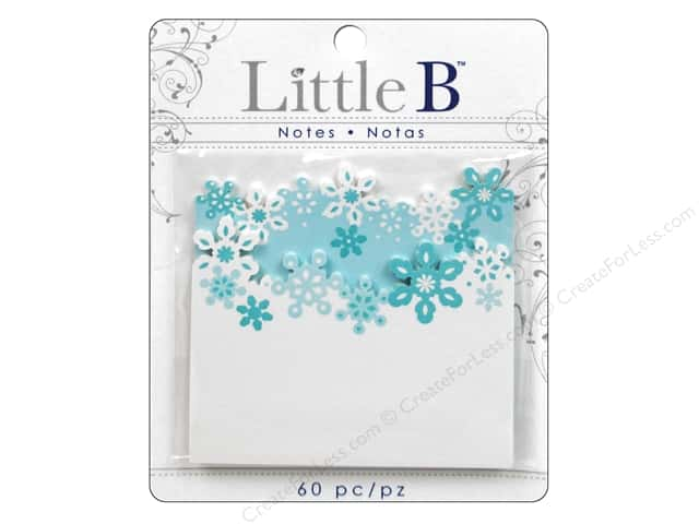 Little B Adhesive Notes Winter