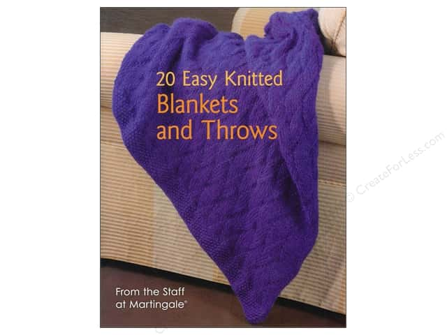 That Patchwork Place 20 Easy Knitted Blankets and Throws Book