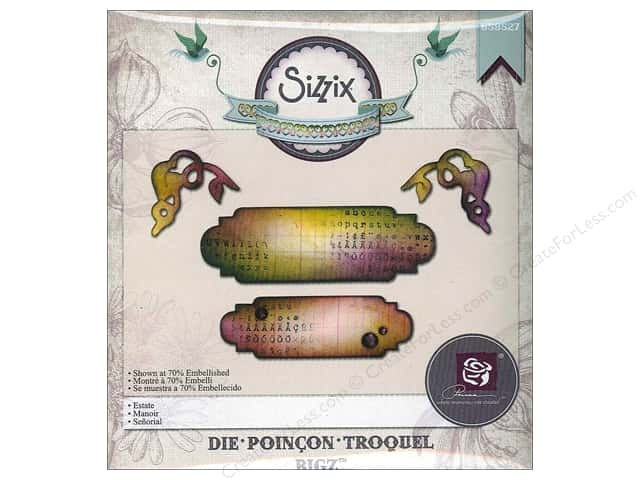 Sizzix Bigz Die Estate by Prima