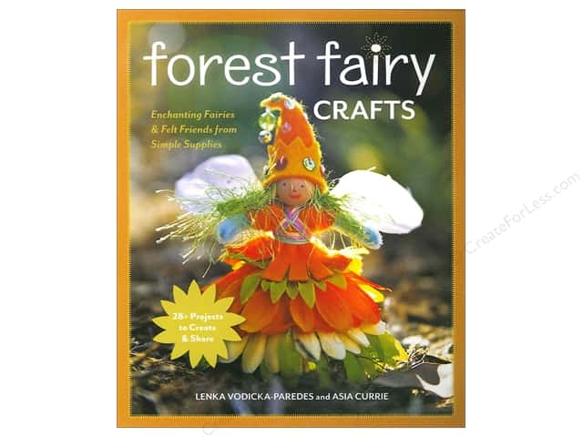 FunStitch Studio Forest Fairy Crafts by Lenka Vodicka-Paredes and Asia Curie