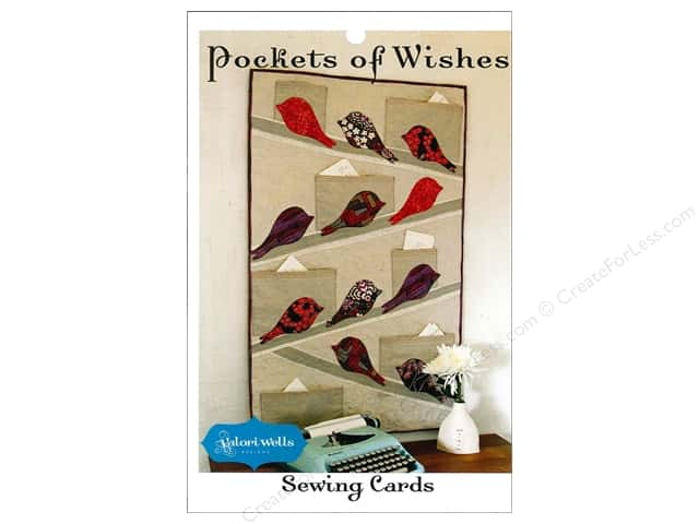 Stitchin' Post Pockets of Wishes Sewing Card Pattern by Valori Wells