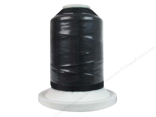 Intressa Polyester Thread 600yd Black