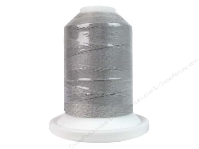 Intressa Polyester Thread 600yd Silver