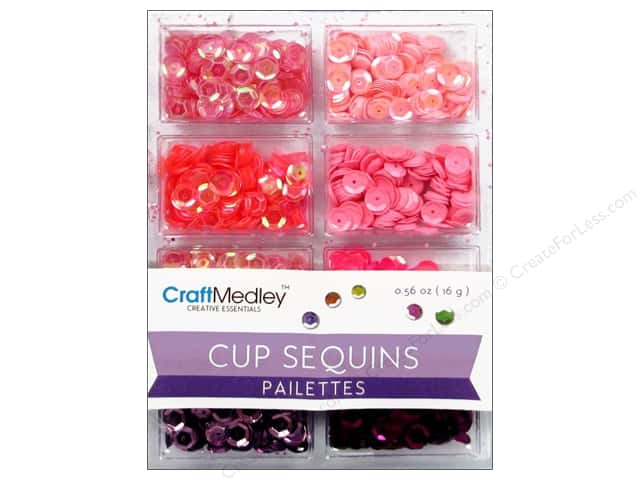Craft Medley Cup Sequins 7 mm Princess