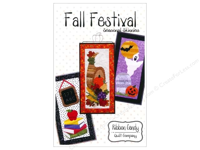 Ribbon Candy Quilt Fall Festival Skinny Pattern