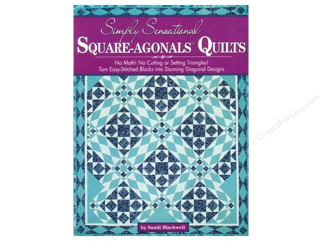 Landauer Simply Sensational Square-agonals Quilts Book by Sandi Blackwell