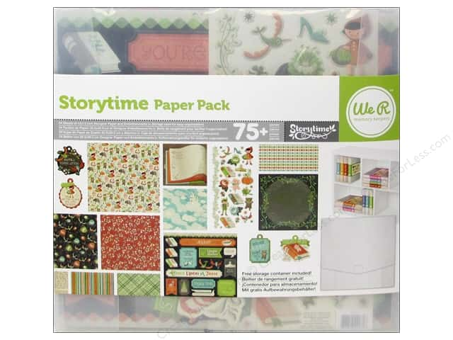 We R Memory Paper Pack Storytime