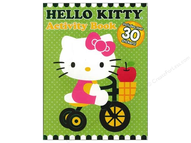 Bendon Activity Book with Stickers Hello Kitty