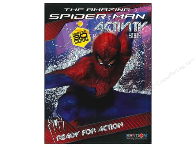 Bendon Activity Book with Stickers Spiderman 4