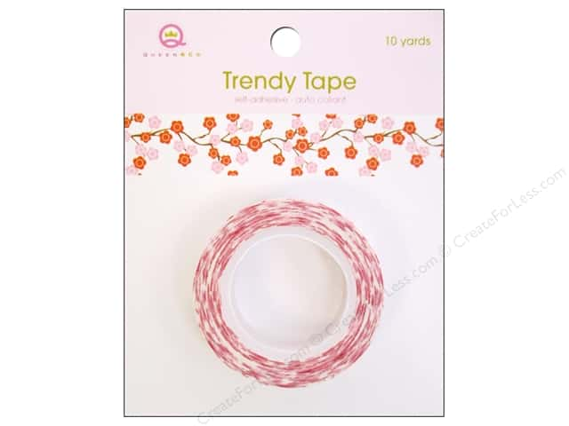 Queen&Co Trendy Tape 10yd Cherry Blossoms