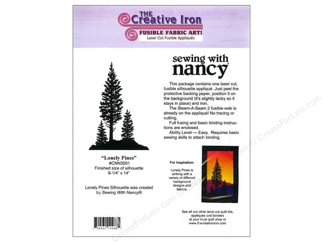 Creative Iron Fuse Applique Sewing With Nancy Lonely Pines