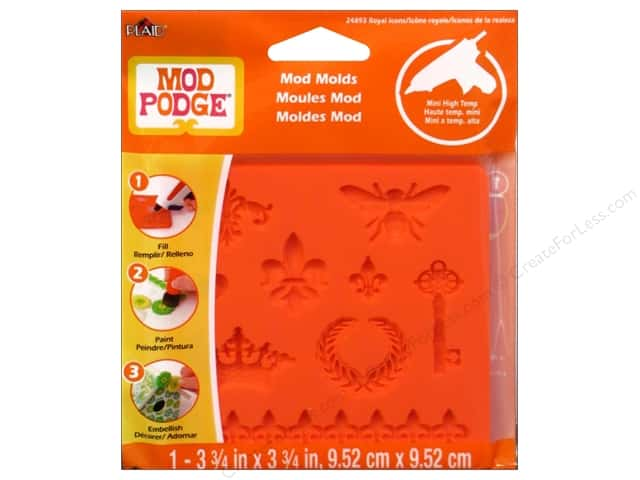 Plaid Mod Podge Tools Mod Mold Royal Icons