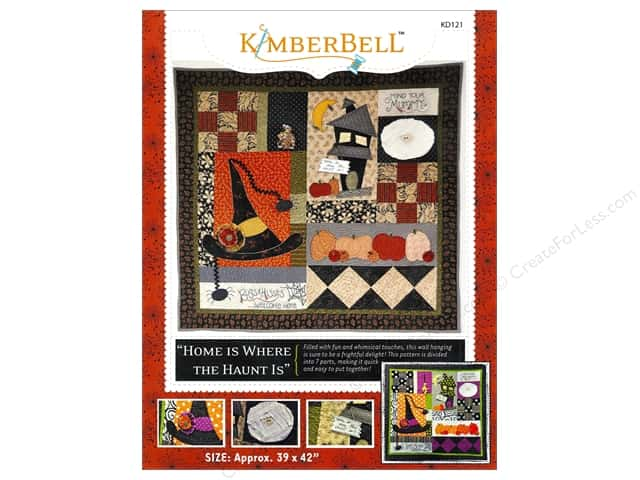 Kimberbell Designs Patterns Home Is Where The Haunt Is Wall Hanging Pattern
