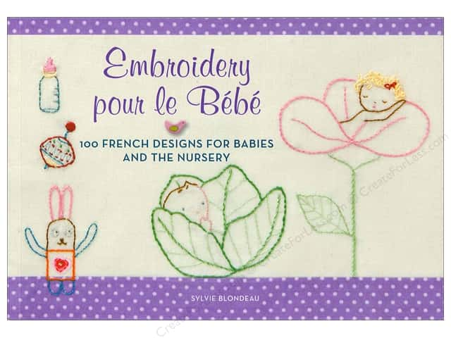 Embroidery pour le Bebe Book vy Harper Collins