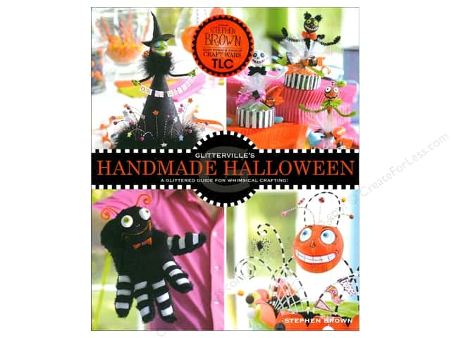 Andrews McMeel Publishing Glitterville's Handmade Halloween Book by Stephen Brown