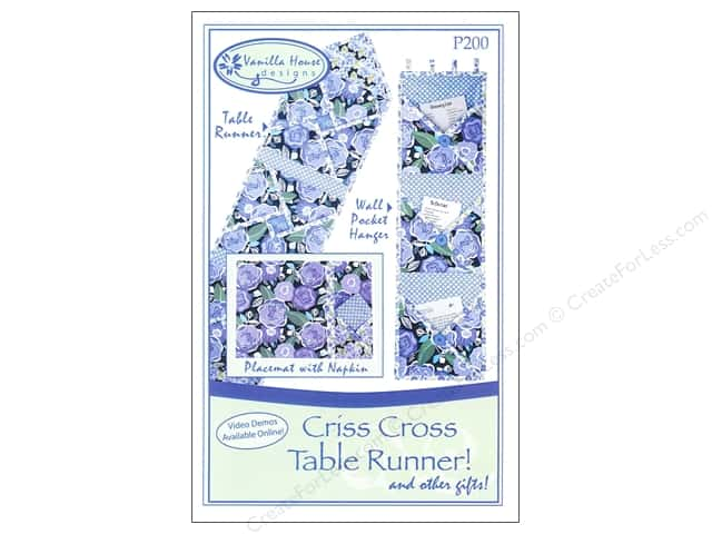 Criss Cross Table Runner! Pattern by Vanilla House
