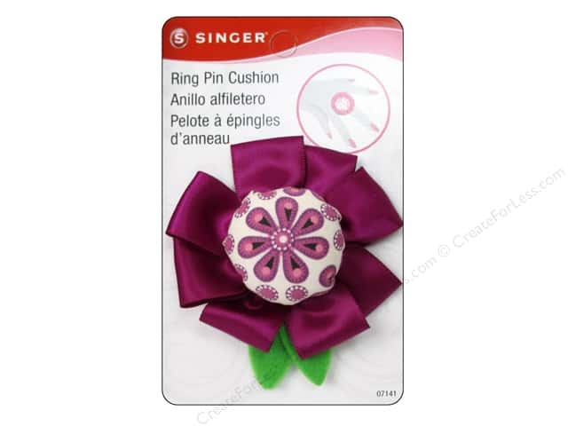Singer Notions Sew Cute Pin Cushion Flower Ring
