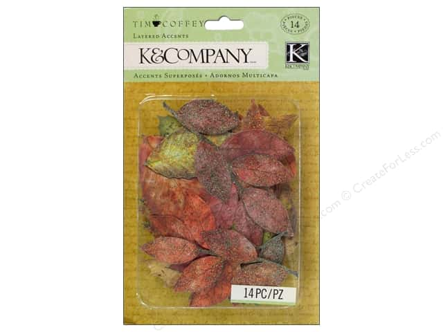 K&Company Layered Accents Tim Coffey Fall Leaves