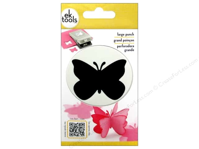 EK Paper Shapers Large Punch Butterfly