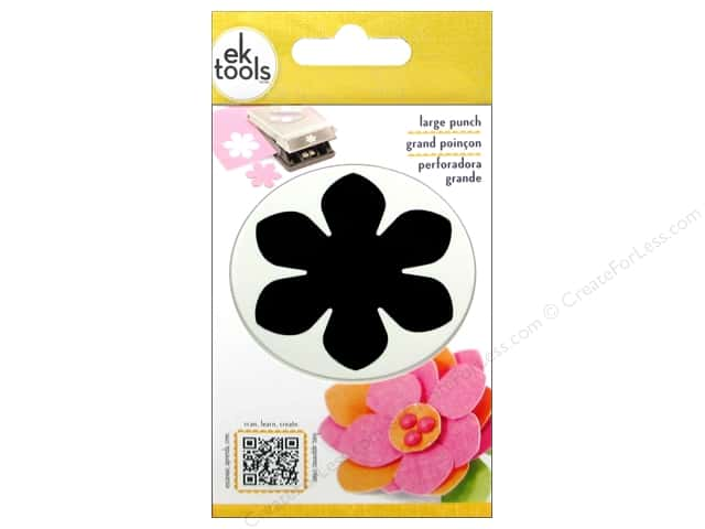 EK Paper Shapers Large Punch Gardenia