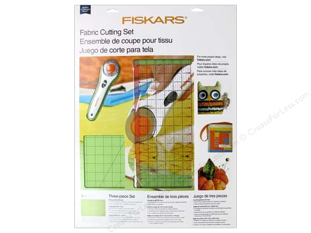 Fiskars Rotary Cutter Set Fabric 3pc