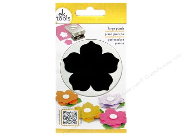 EK Paper Shapers Large Punch Petunia