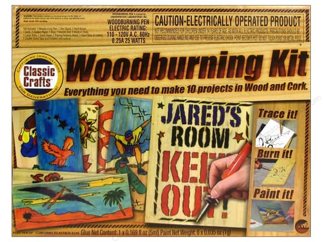 NSI Classic Woodburning Kit