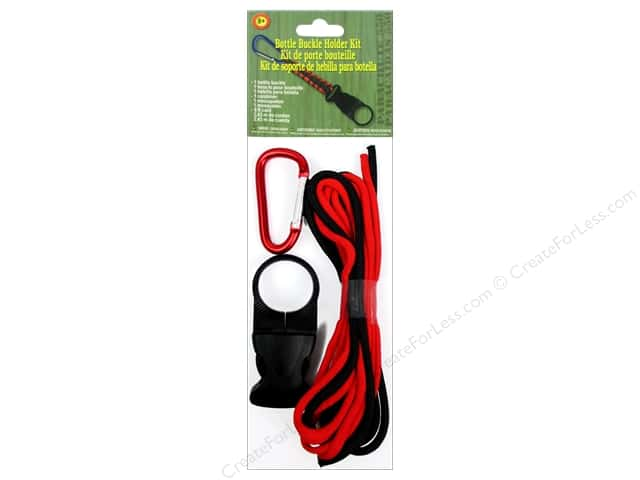 Pepperell Parachute Cord Accessories Bottle Buckle Hold Kit