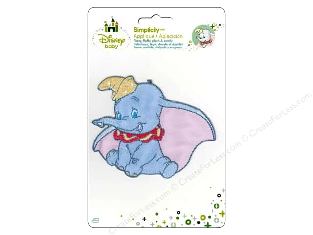 Simplicity Disney Baby Iron On Dumbo Posing