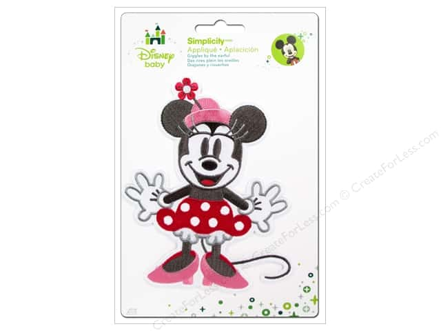 Simplicity Disney Baby Iron On Minnie Full Body