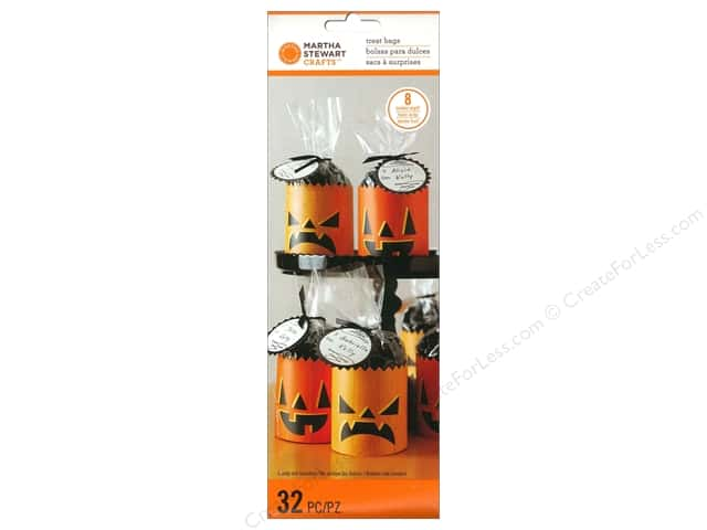 Martha Stewart Food Packaging Treat Bags Animal Masquerade Pumpkin