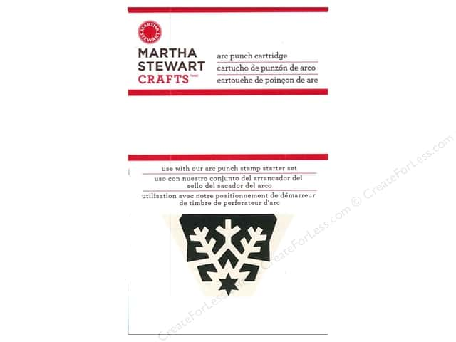 Martha Stewart Circle Edge Punch Cartridge Starry Snowflake