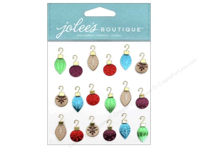 Jolee's Boutique Stickers Ornament Mini Repeats