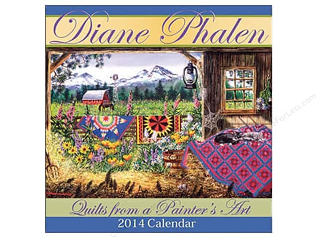 Landauer Quilts From A Painter's Art 2014 Calendar