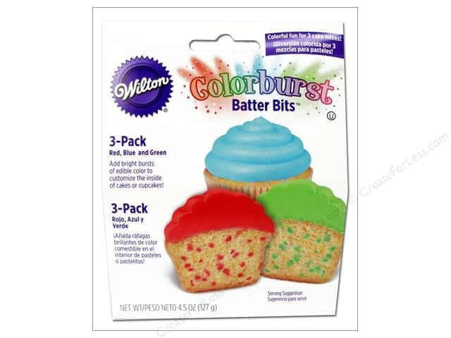 Wilton Edible Decorations Batter Bits Colorburst Multi Primary 4.5oz