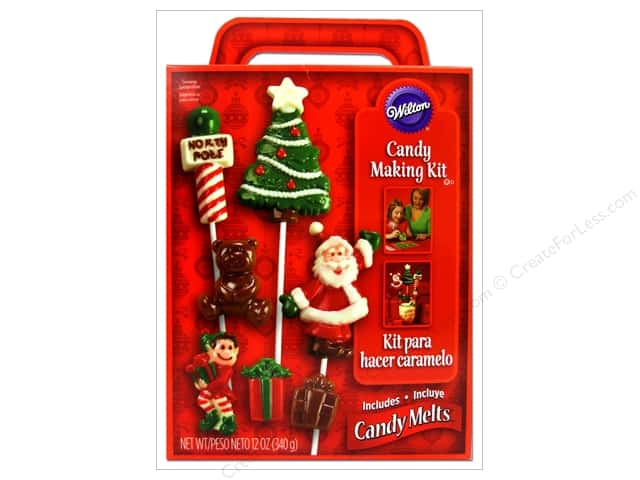 Wilton Edible Decorations Candy Making Kit Mega Pack Christmas