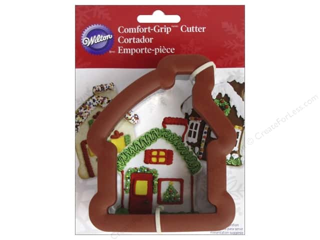 Wilton Cookie Cutter Comfort Grip Gingerbread House