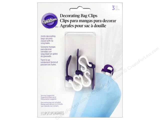 Wilton Tools Decorating Bag Ties 3pc