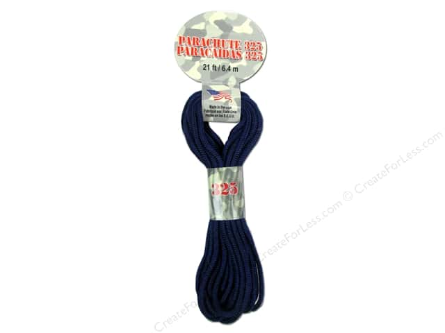 Pepperell 325 Parachute Cord 21 ft. Navy