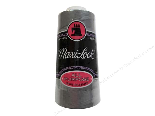 Maxi-Lock Serger Thread 3000 yd. #8065 Steel