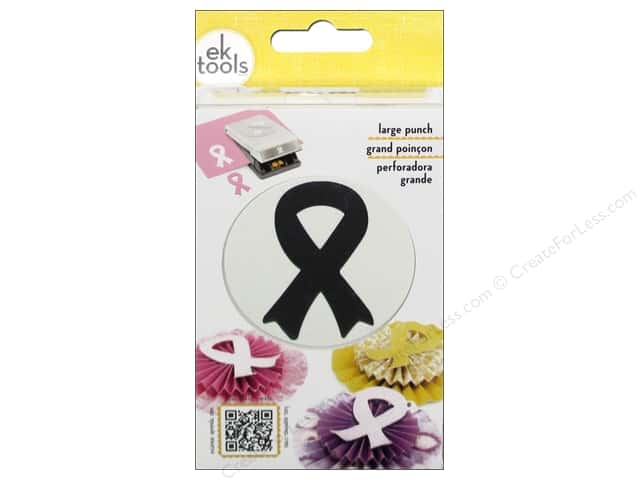 EK Paper Shapers Large Punch Support Ribbon