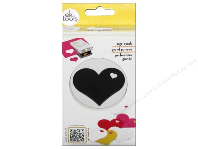 EK Paper Shapers Large Punch Heart In Heart