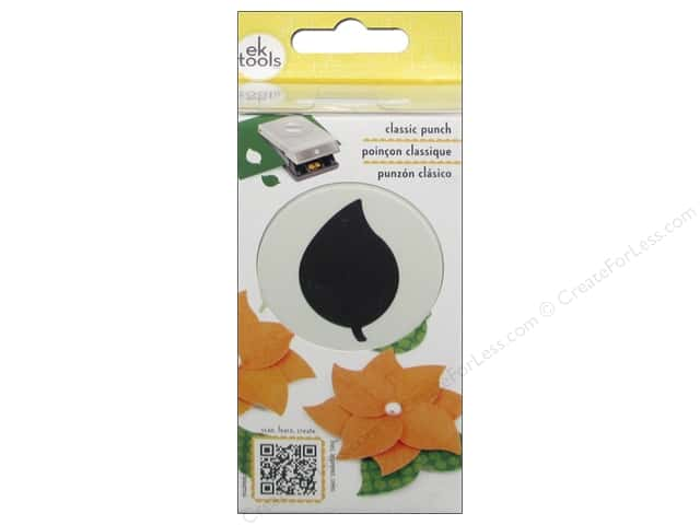 EK Paper Shapers Large Punch Green Leaf