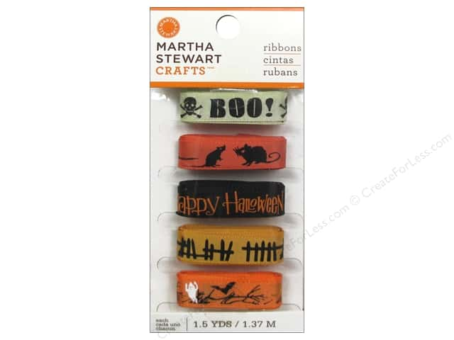Martha Stewart Ribbon Classic Halloween