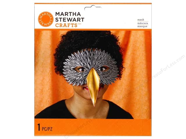 Martha Stewart Party Supplies Decorative Mask Crow
